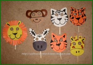 make your own paper plate animal masks